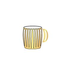 Beer mug computer symbol vector