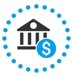 Dollar Bank Icon vector