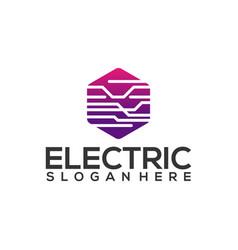 Electricity logo designs simple electric logo vector