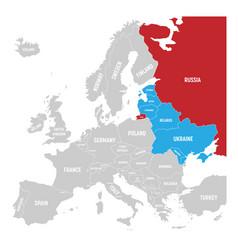 Former union of soviet socialist republics ussr vector