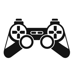 Game controller icon simple style vector