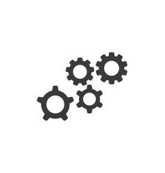 gear logo template vector image