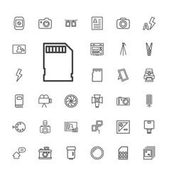 Photo icons vector