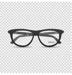stylish retro eyeglasses vector image
