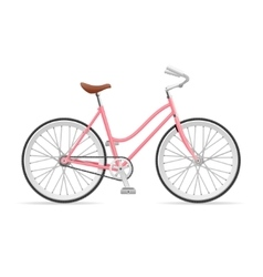 Stylish Womens Bicycle vector image