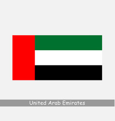 United arab emirates uae national country flag vector
