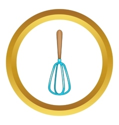 Whisk icon vector