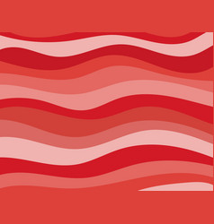 Wavy background shades of red vector