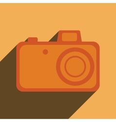 Element for web design photo camera vector image