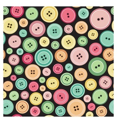 Sewing Buttons As Seamless Pattern vector image vector image