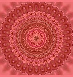 Abstract bohemian mandala fractal background vector