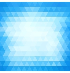 Abstract geometric neutral triangle background in vector image
