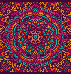 Abstract kaleidocopic ornamental vector