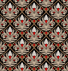 damasc seamless pattern vector image