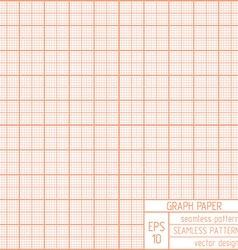 Graph paper seamless pattern vector image