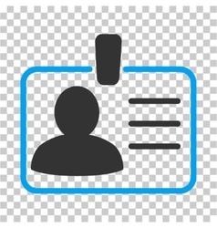 Personal Badge Icon vector