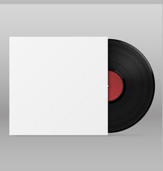 vinyl paper envelope template design element vector image