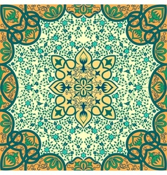 floral arabesque ornament vector image vector image