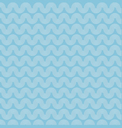 abstract sea ocean water wave blue and white vector image vector image