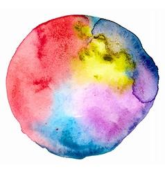 watercolor spot vector image vector image