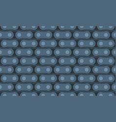 motorcycle chain seamless pattern vector image