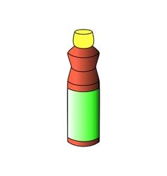Detergent bottle vector