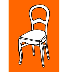 Objects collection Chair vector image