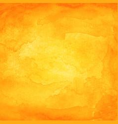 orange watercolor macro texture background vector image vector image
