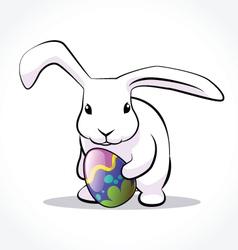 Rabbit easter 4 vector