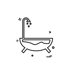 sanitary icon design vector image