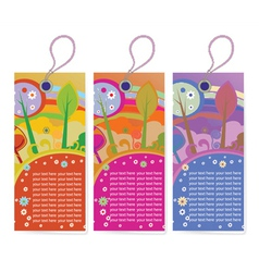 Shopping tags vector
