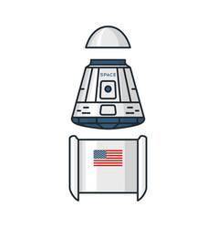 Space theme vector