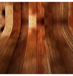 Wood plank brown texture background EPS10 vector image