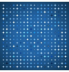 Abstract Background of Colored Stars vector image vector image