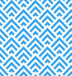 Abstract Blue and White Angle Stripes Pattern vector image