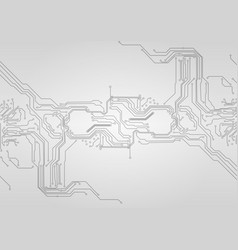 Abstract technological circuit background vector