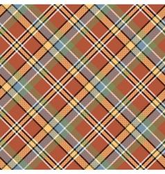 Brown beige diagonal plaid pixeled seamless vector