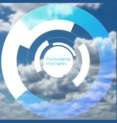 circular pattern circle elements forming vector image