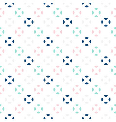 Colorful circles seamless baby pattern vector