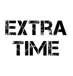 Extra time stamp typ vector