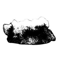 ink splash grunge vector image