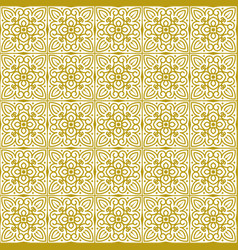 seamless background in traditional eastern style vector image