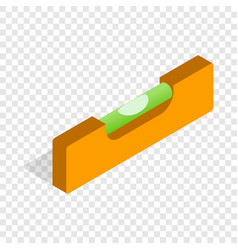 level measurement isometric icon vector image vector image