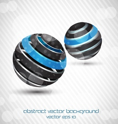 abstract sphere bckr vector image