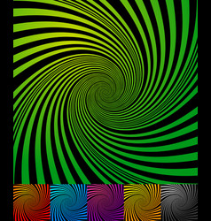 Abstract backgrounds with vortex spiral shape vector