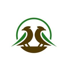 Canary animal logo design your vector