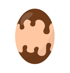 delicious easter egg vector image