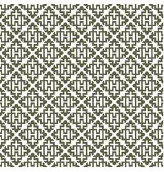 Khaki abstract damask pattern backdrop vector