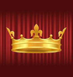 Queen gorden crown royal image vector