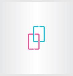 Tablet icon symbol design vector